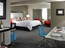 Custom SNooZA in a hotel room