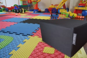 Black canvas SNooZA in playroom - (waterproof)
