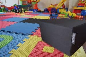 Black canvas SNooZA in playroom - (waterproof)
