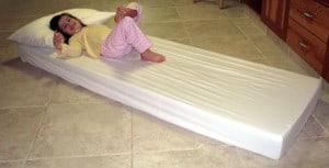 smalla mattress folded out