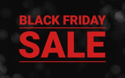 Black Friday to Sunday Sale